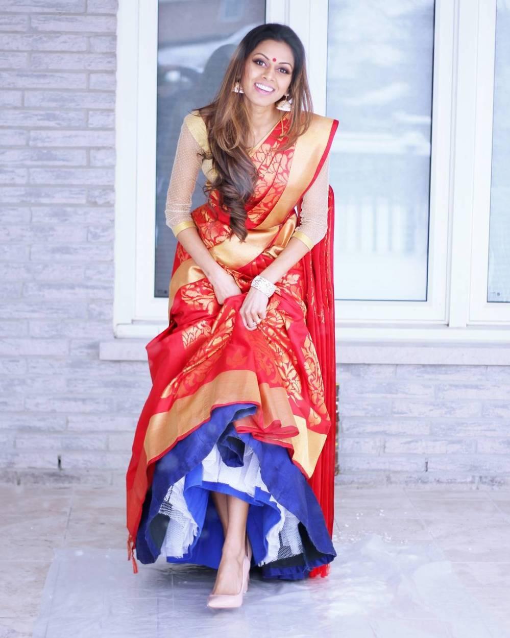 Tia-Bhuva-Cancan-Saree
