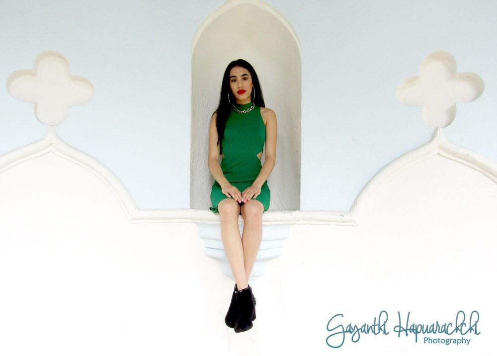 Selena-Quintanilla-green-jumpsuit